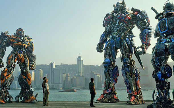 Excitement for all transformers fans! 'Transformers' sets all-time box office record in China.
