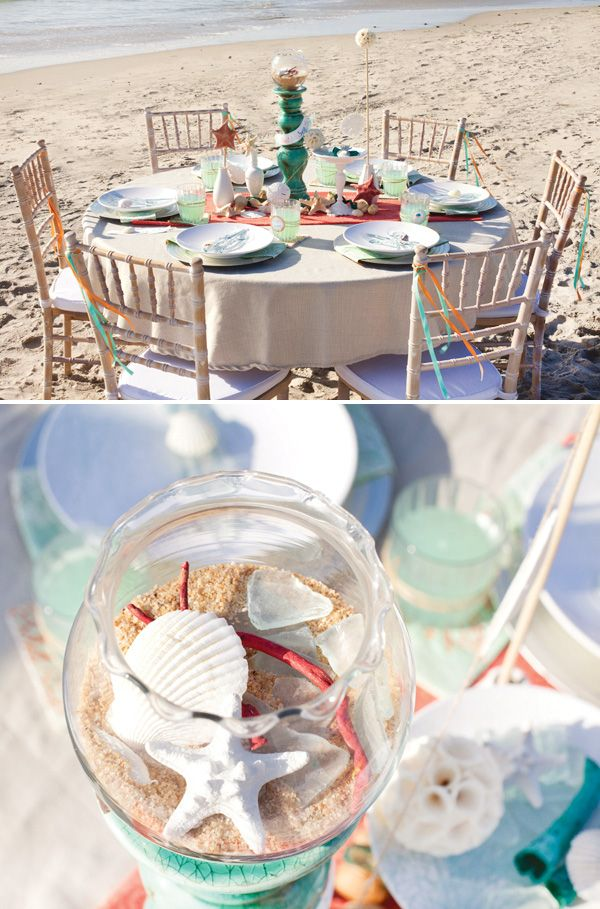 MADHOUSE Ocean Inspired Tablescape {+ Ocean Breeze Cocktail & Free Printables}