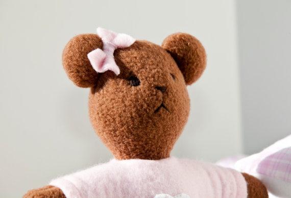 Classic Brown Soft Fleece Teddy Bear (Galveston)