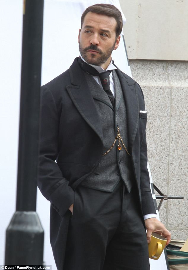 "Jeremy Piven begins filming for series two of Mr Selfridge. I cannot get enough. My fave of all series besides ""The Paradise"" Love the fashion."