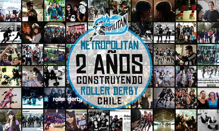 Metropolitan, 2 años construyendo Roller Derby Chile