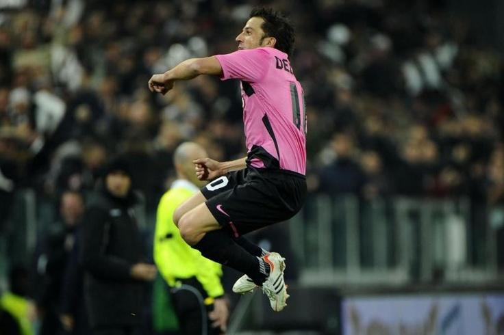 Selebrasi Il Capitano, Alessandro Del Piero.
