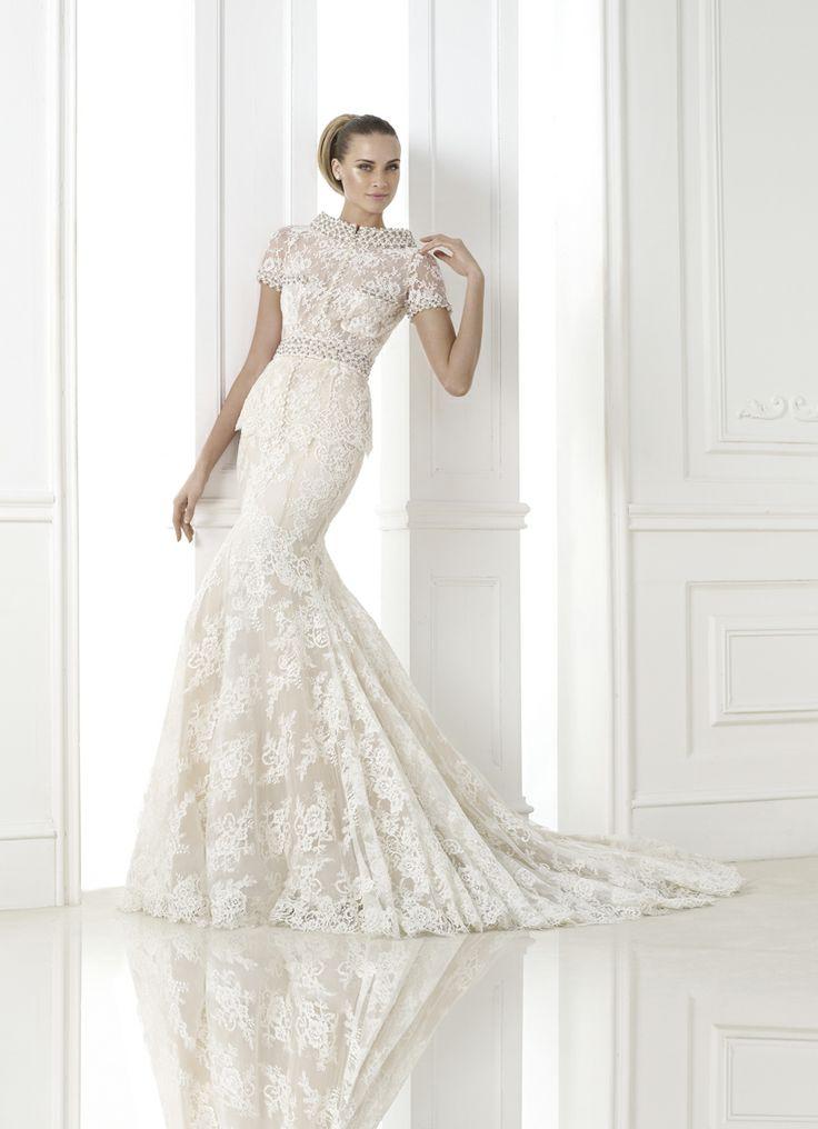 Simple KALONICE Wedding Dress