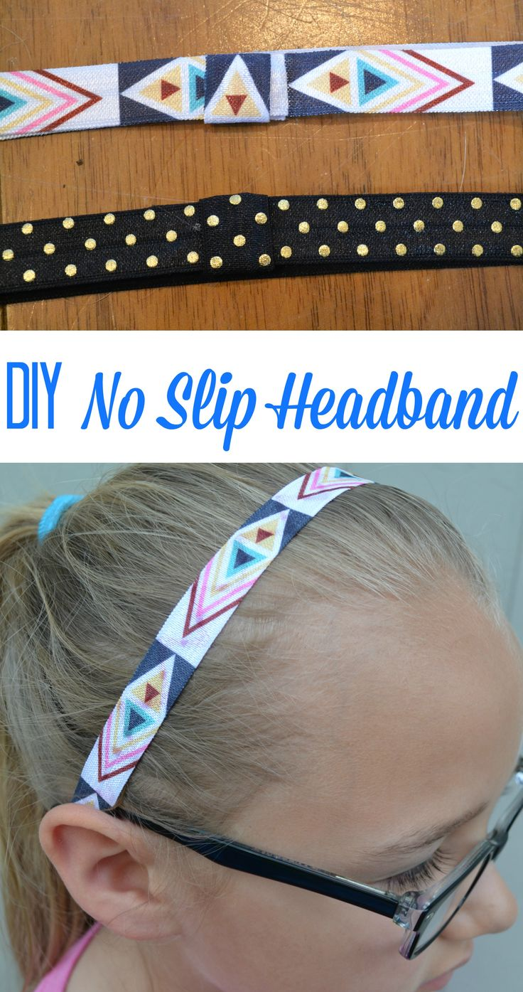 These headbands are so cute and super easy to make. My girls love them!  www.momswithoutanswers.com