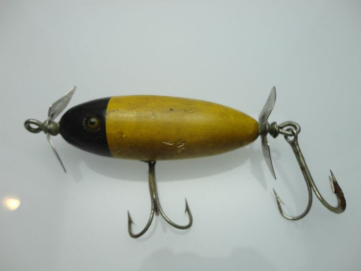 48 best images about old fishing lures on pinterest for Collectible fishing lures