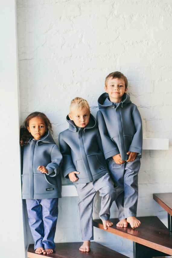 These all-weather coats are instant classics (even for the grade-school set). #etsykids