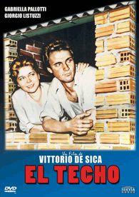 El techo (1956) Italia. Dir.: Vittorio De Sica. Comedia. Drama. Neorrealismo. Cine social - DVD CINE 1579