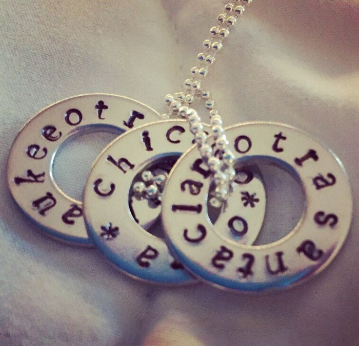 One Direction OTRA Hand-stamped Tour Pendant // bymissrose on Etsy // @tourpendants