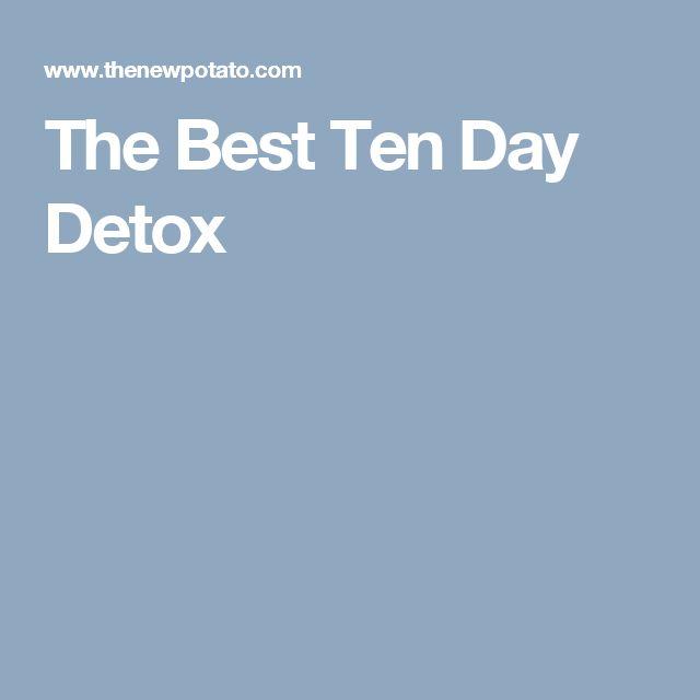 The Best Ten Day Detox