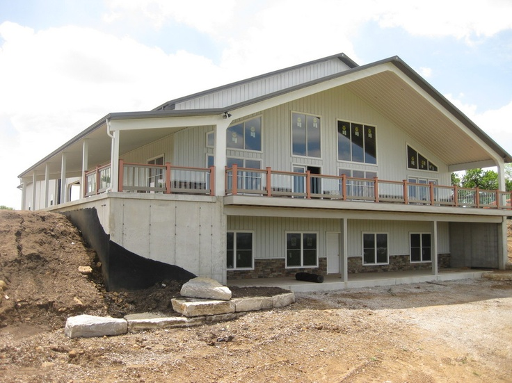 151 best images about pole barn home on pinterest for Prefab concrete homes texas