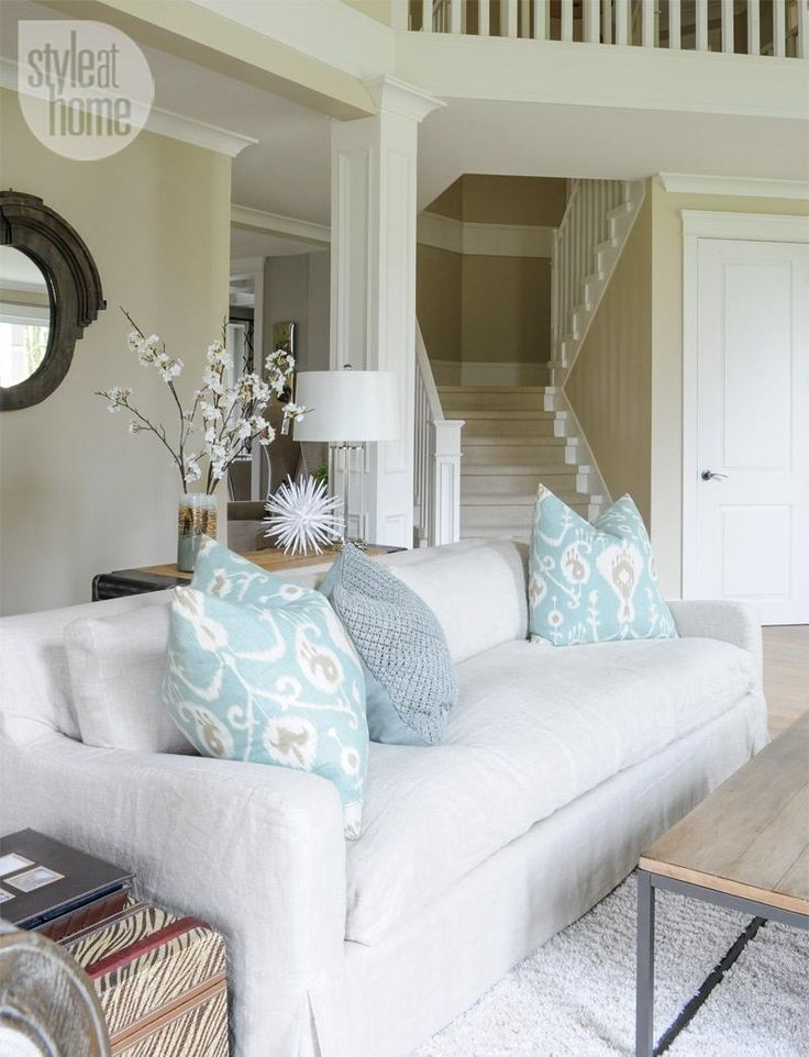 Interior Soothing Neutral Family Home House Tours Style And Family Homes