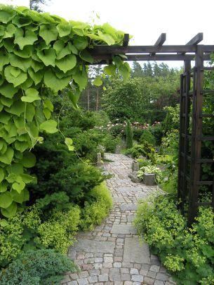 Stenströms trädgård.