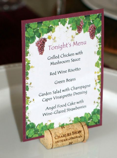 Invite and Delight: Wild about Wine Party                                                                                                                                                     More