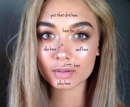 Why Strobing Is The New Contouring - Betches Love This