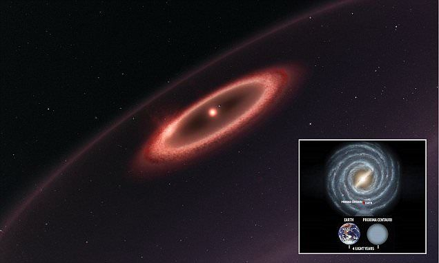 Proxima Centauri could have a planetary system similar to our own