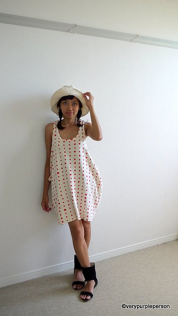 nani iro tank dress - wish I was skinny enough to pull this off!