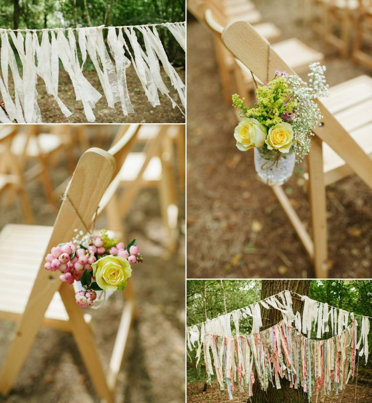 Two Childhood Sweethearts And Their Handmade Rustic Folk Scene Inspired Woodland Wedding