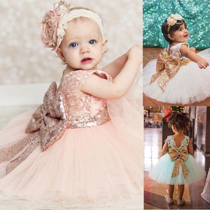 Blumen Mädchen Baby Festkleid Kinder Hochzeit Party Pailletten Tüll Kleid 70-120 | Kleidung & Accessoires, Kindermode, Schuhe & Access., Mode für Mädchen | eBay!
