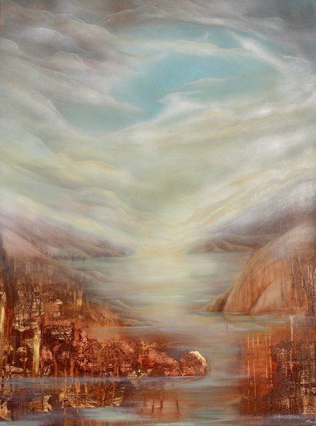 Artfind.co.nz - Artwork - City Of Ancients by StaceyO'Neill