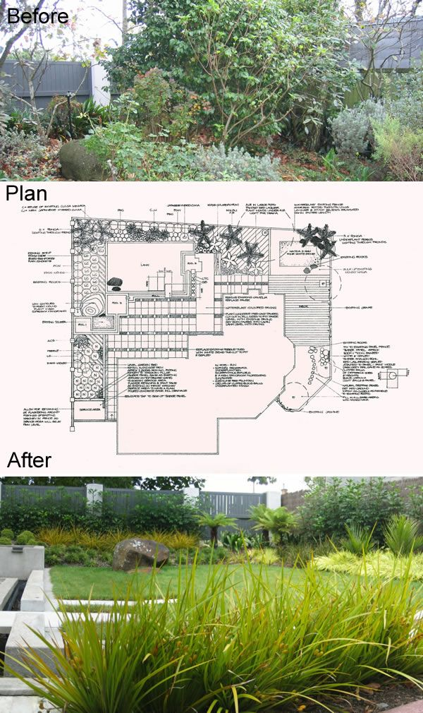 Landscape Garden | Garden Plans | Concept plans Seed Landscapes