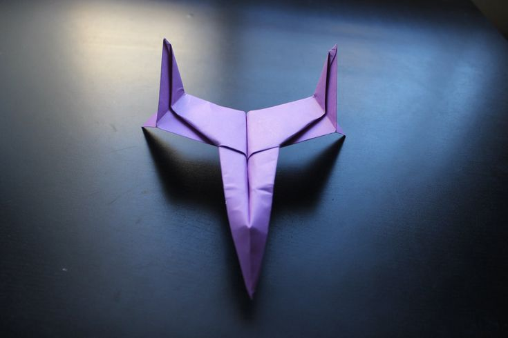 How to Make a Star Fighter Origami Paper Plane: tutorial