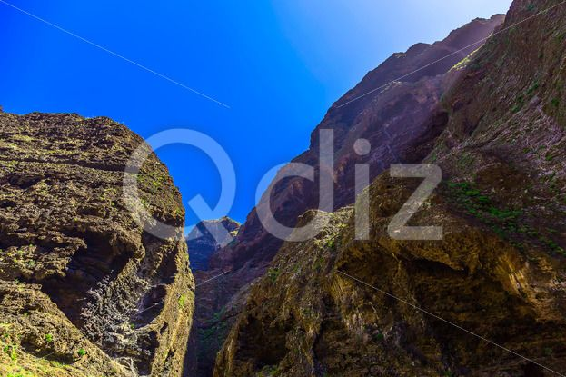 Qdiz Stock Images Rocky Mountains on Tenerife Island in Spain