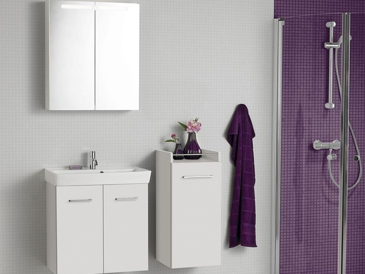A Stylish Mido Display With A Mido Mirrored Cabinet, A Two Door Washstand  With Shelf