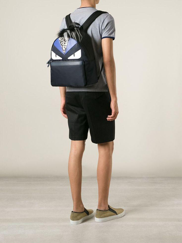 Fendi Monster Backpack Men
