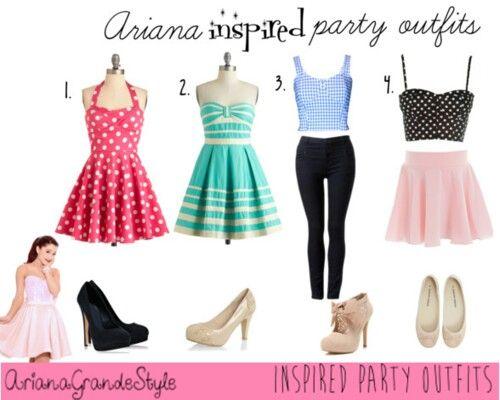 ariana grande style skirts