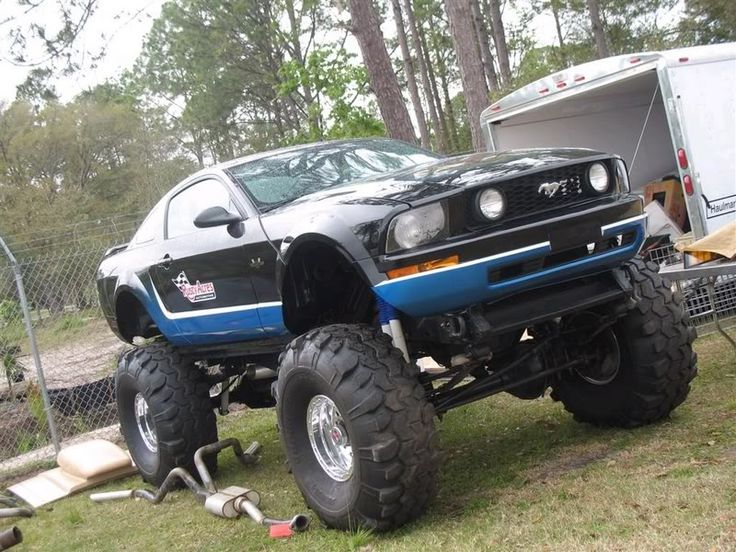 Lifted Mustang Sonic Blue Pony Trars Pinterest