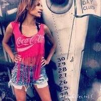 Fringe Coca Cola Tank