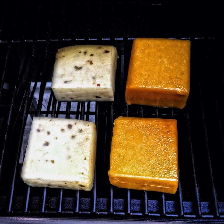 Smoked Pepper Jack Cheddar Cheeses On The Traeger Cold Smoker