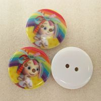 25Y42804  22*22MM button high quality printed polyester ribbon 25 pieces, DIY handmade materials, wedding gift wrap