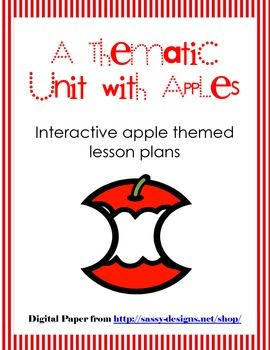 These hands-on apples lessons will actively engage students in science, math, reading, writing, and investigating.   Included in this unit is:   *Parent Letter   *Investigation Sheet   *Apple Book List   *Applesauce Sequencing Activity Sheets   *Apple Tasting Sheet   *KWL Chart   *Writing Activity Sheet (Classroom cookbook)   *Five Little Apples Anchor Chart and Activity   $