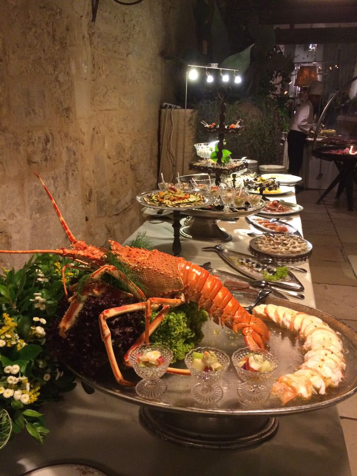 Lobster/Aragosta. A south italian wedding in Apulia, in the center of #Lecce Torre del Parco