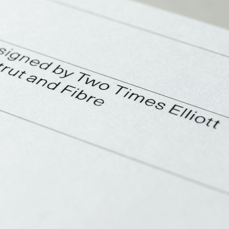 Postcard template designed by Two Times Elliott for Strut and Fibre's Ambassador Collection.