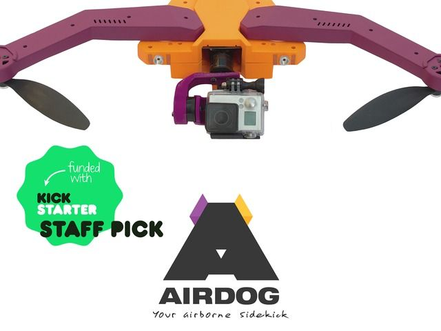 AirDog: World's First Auto-follow Drone for GoPro Camera by Helico Aerospace Industries US LLC