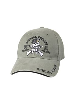Vintage Olive Drab Special Forces Deluxe Low Profile Insignia Cap ! Buy Now at gorillasurplus.com