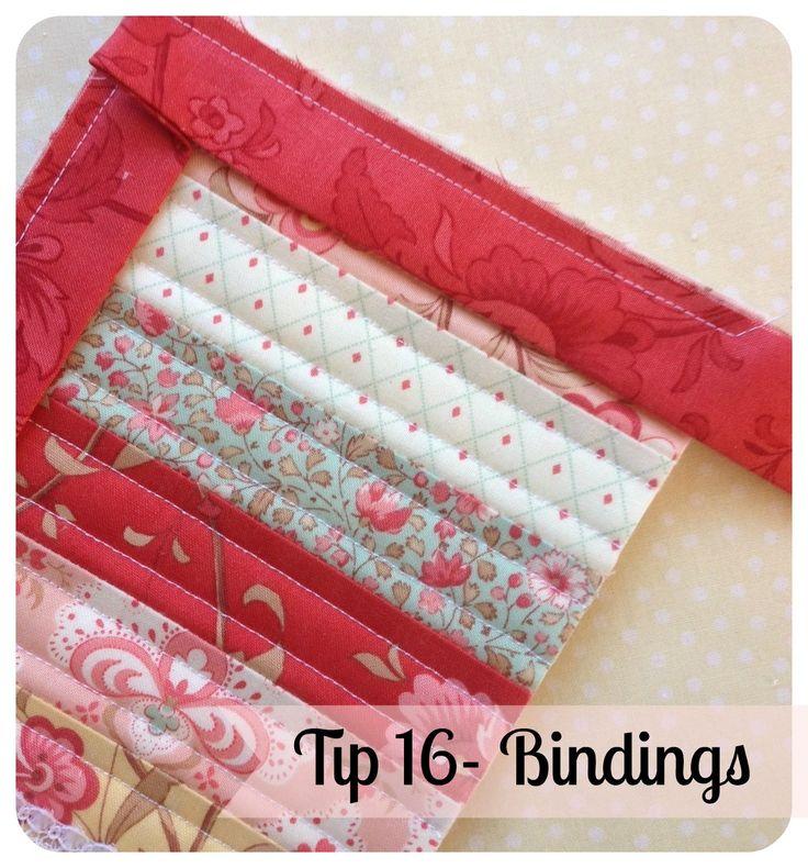 Threadbare Creations- Tip #16 Bindings