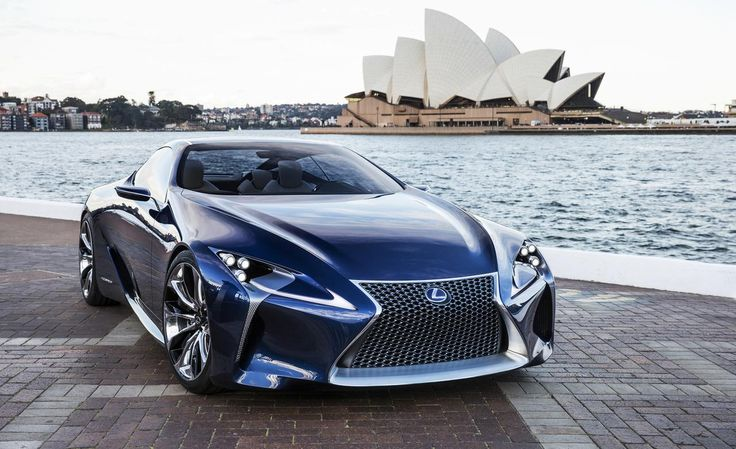 Newcarsvie.com - 2017 Lexus LF-LC New Car Reviews
