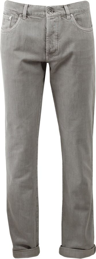 BRUNELLO CUCINELLI Basic Fit Denim Pant