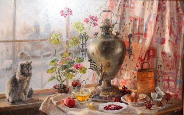by Russian artist, Vladimir Zhdanov