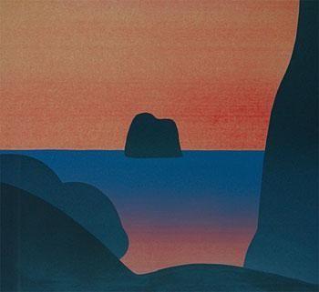 Michael Smither, Black Rocks--Sunset, 1981