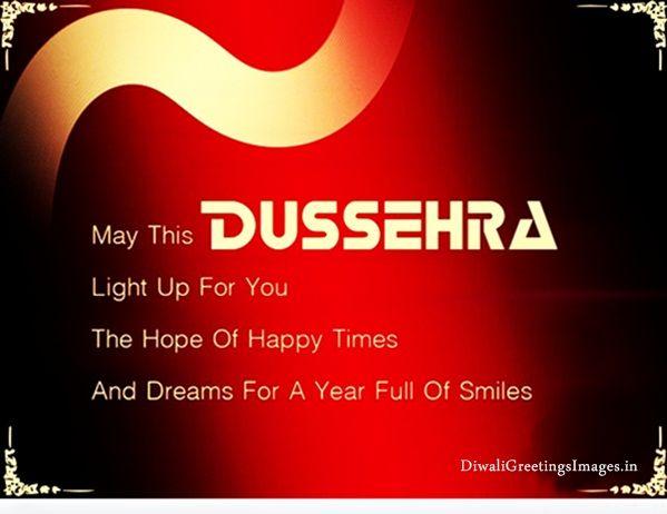 Happy Dasara Wishes Greetings in Hindi & English, Happy Dussehra Greetings