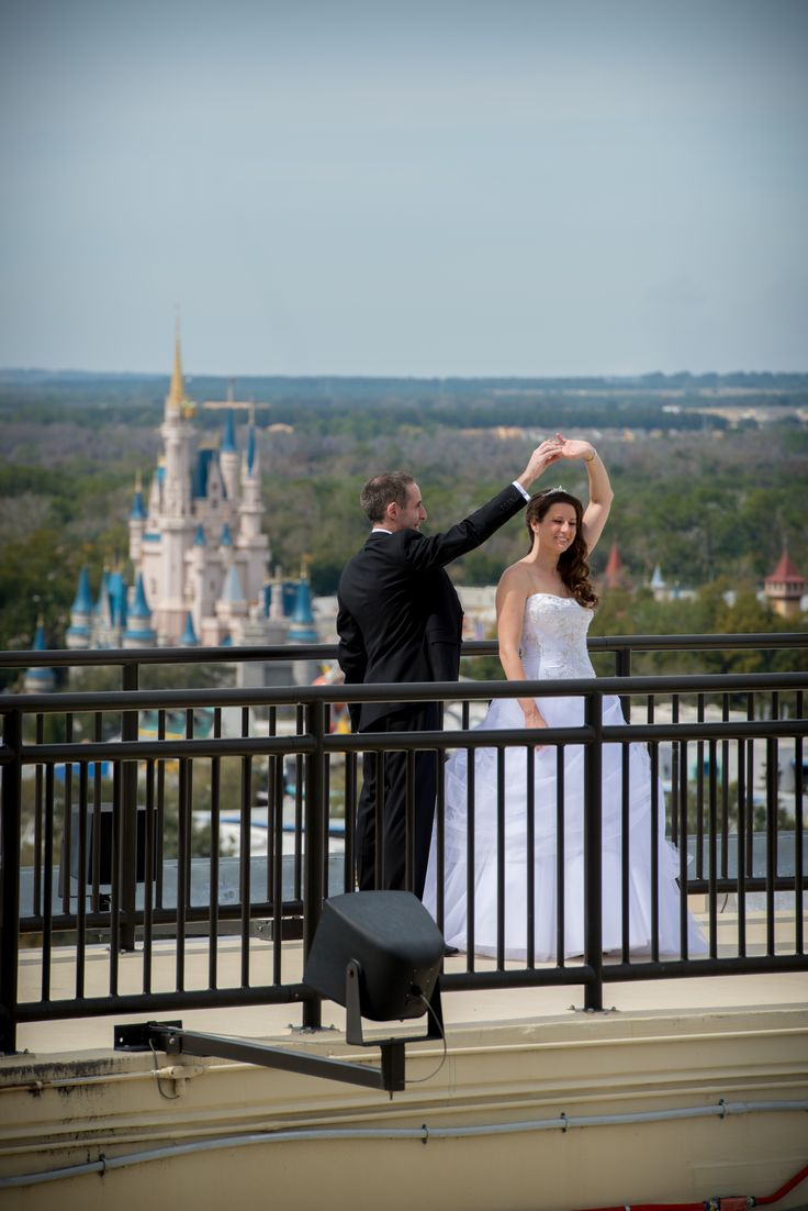 Weddings at disney parks and resorts - The Most Perfect View Of The Cinderella Castle At Disney S Contemporary Resort Disneyworld Wedding
