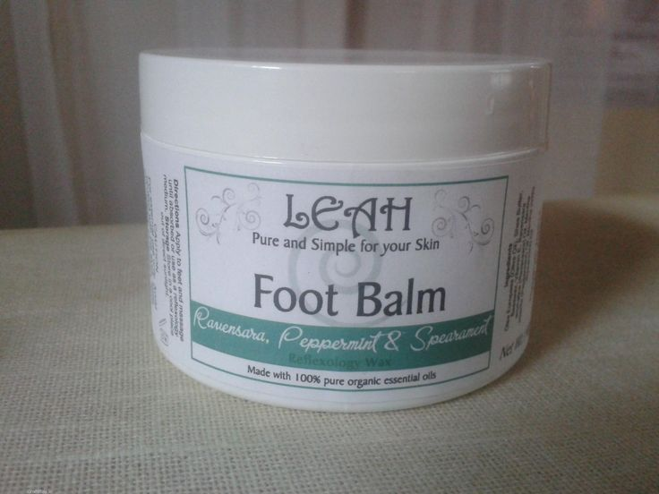 LEAH Foot Balm & Reflexology Wax  LEAH Foot Balm & Reflexology Wax is for use for both a refreshing Foot Massage and Reflexology medium. The essential oils of Spearmint and Peppermint are cooling, cleansing and stimulating, whilst the Ravensara is a strong antiviral and immunostimulant. Specially formulated for very dry & tired feet.  Directions Apply to feet and massage until absorbed or use as a reflexology medium. Use as required.  Ingredients Olea Europaea (Olive Oil)*, Shea Butter…
