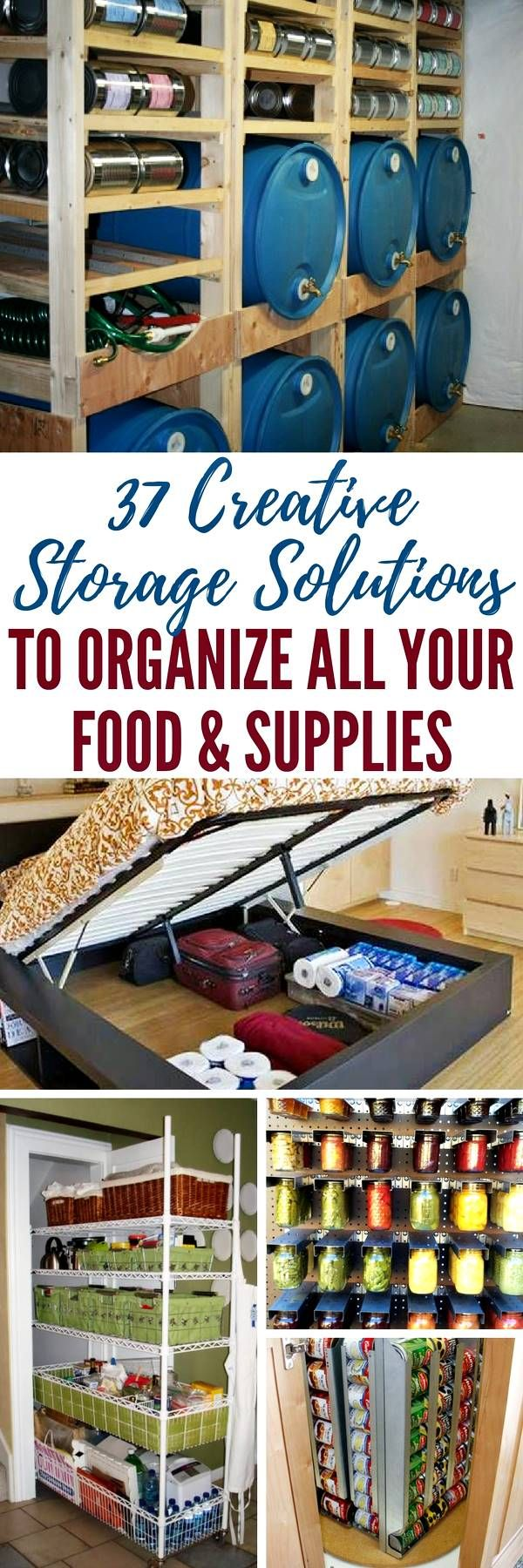 37 Creative Storage Solutions to Organize All Your Food