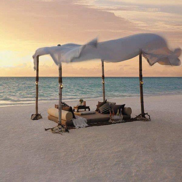 A Perfect Spot for a Beach evening