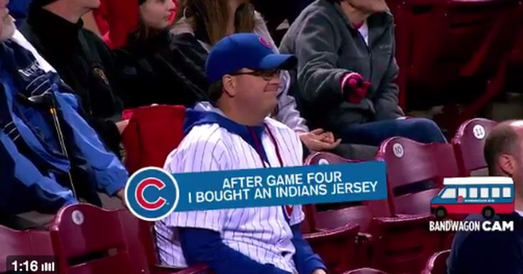 Cincinnati Reds ruthlessly troll Cubs fans with 'Bandwagon Cam'  -  April 22, 2017