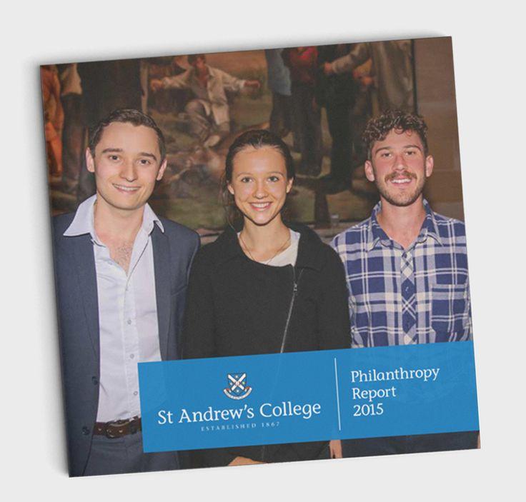 St Andrew's College – Philanthropy Report 2015